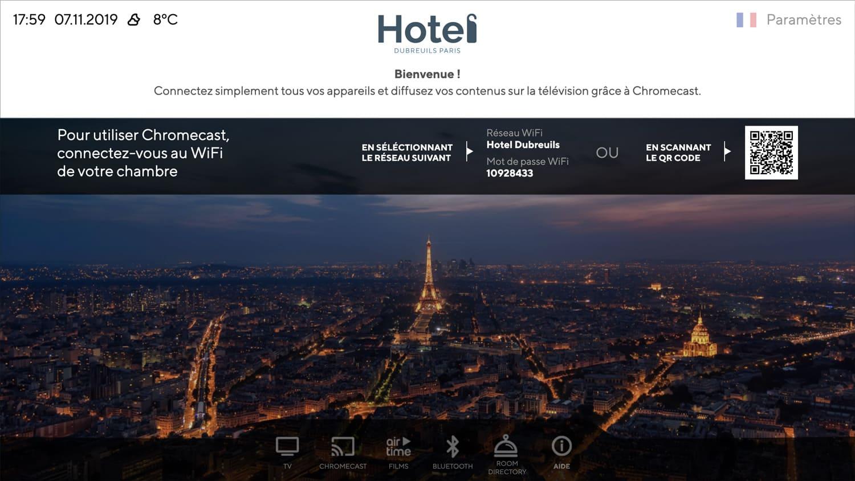 Solution IPTV pour l'hospitality