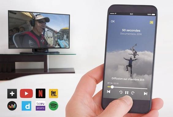 Smart TV solution for hotels