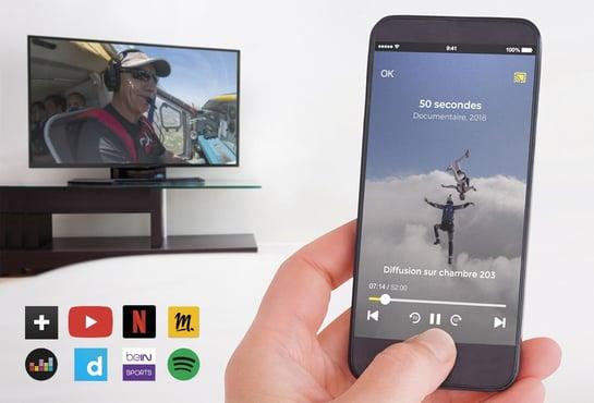 Solution TV connectée pour résidence