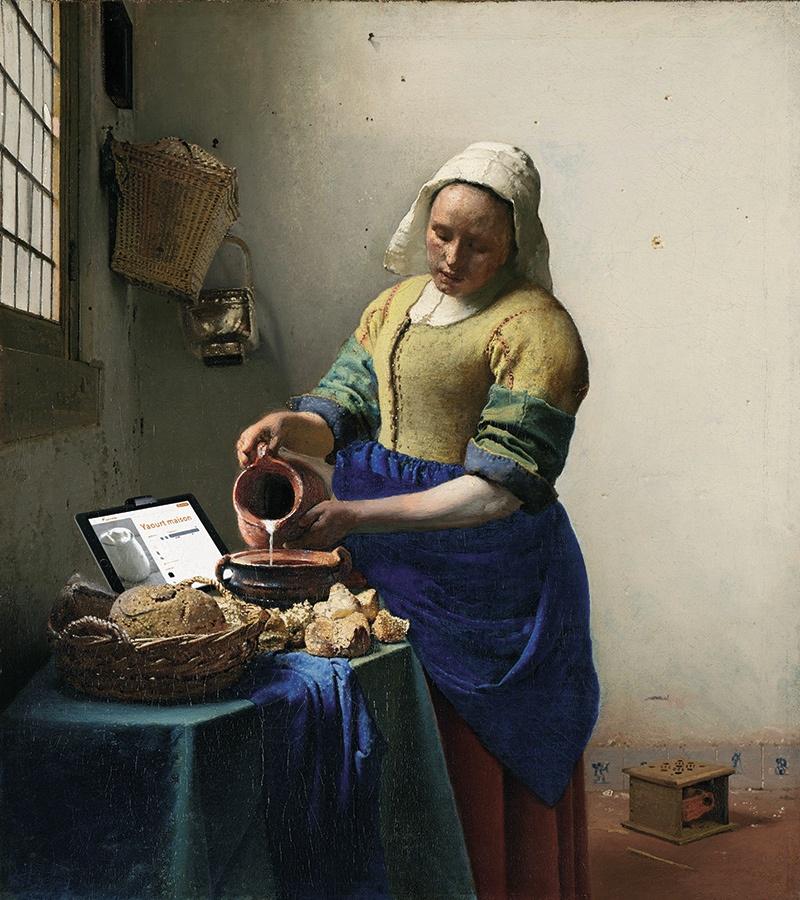 art_connecter_vermeer_laitière