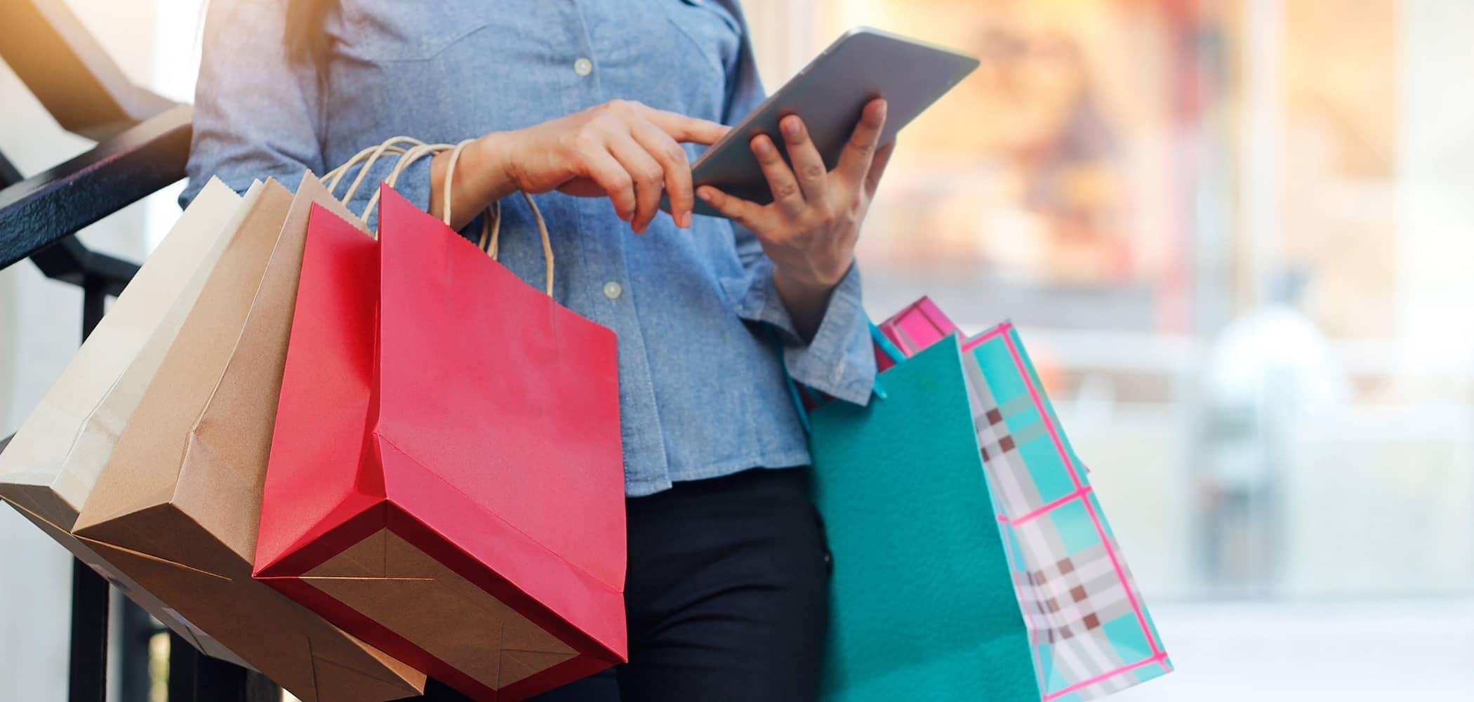 Le WiFi dans les centres commerciaux