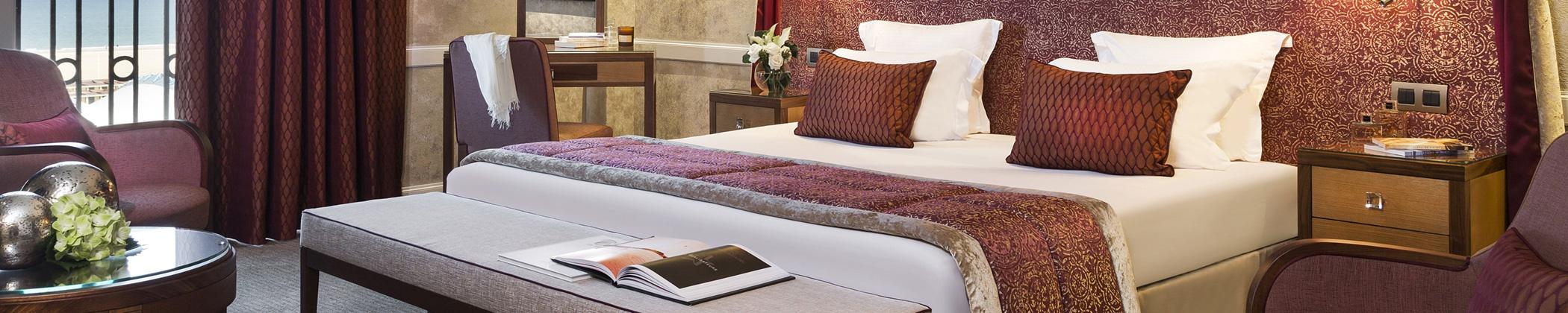 Barrière hotel Le Royal Deauville chambre