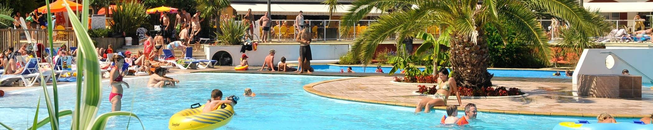 Camping Sylvamar piscine