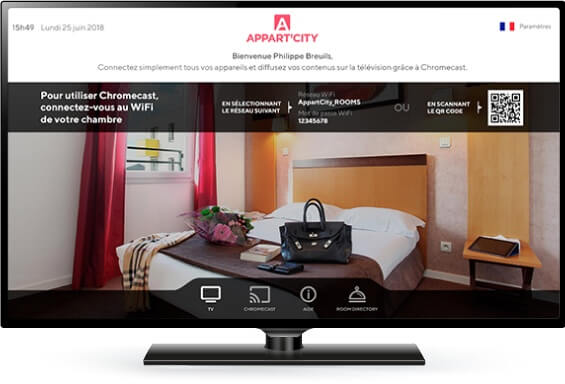 Smart TV solutions for hotels