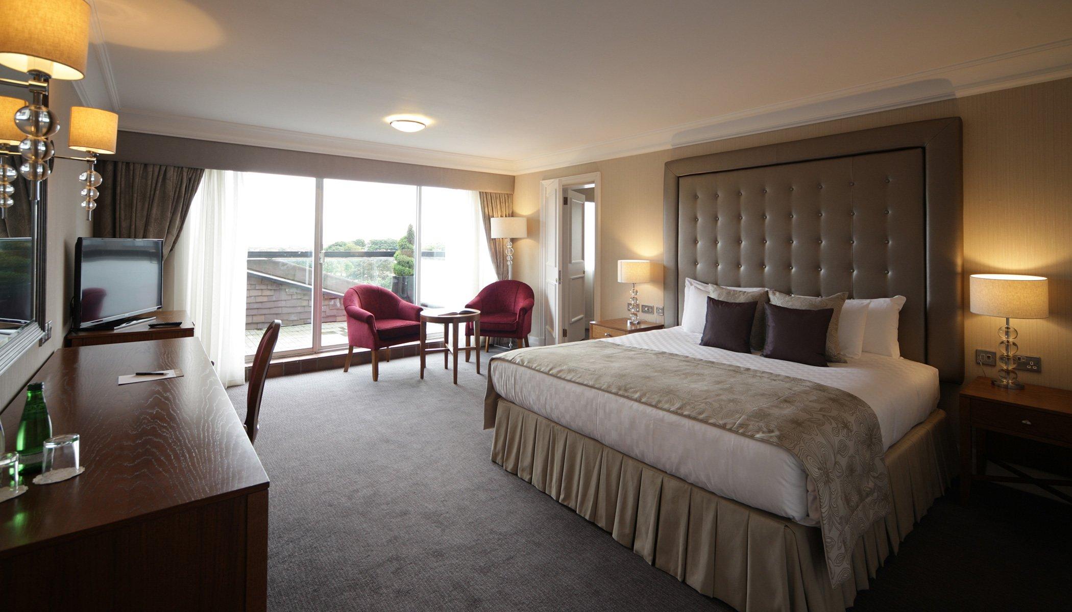 Inside a room at Aberdeen Altens Hotel