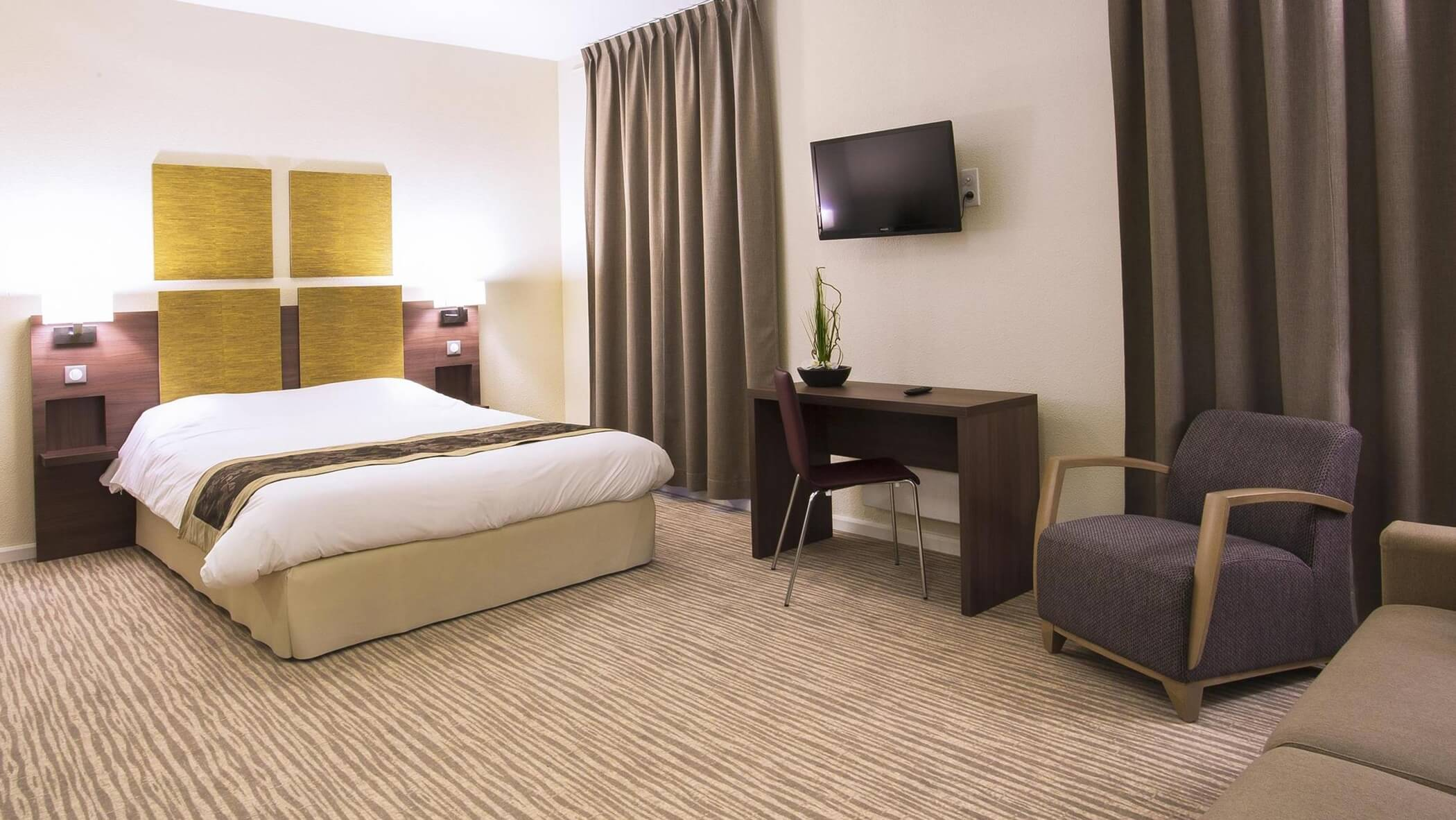 Hotel Kyriad Chambéry Centre chambre