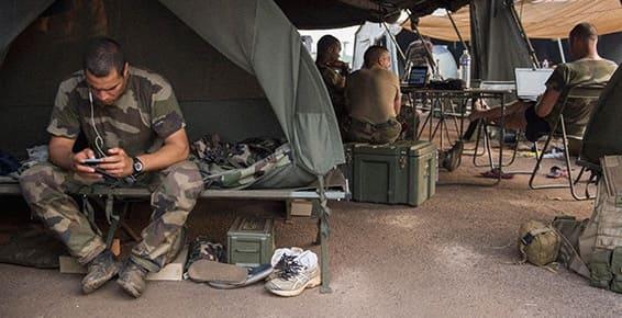 WiFi dans les bases militaires
