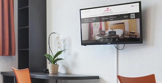 Solution TV pour l'hôtellerie
