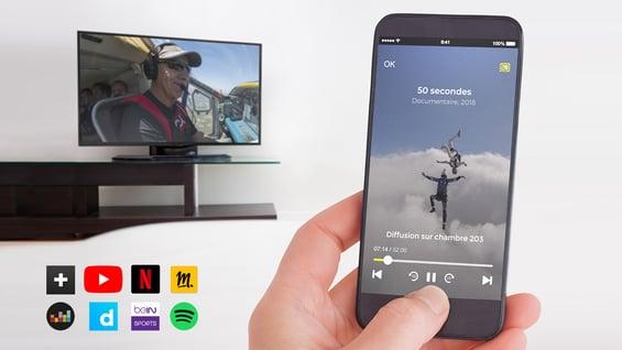 Solution Chromecast pour hôtels et résidences