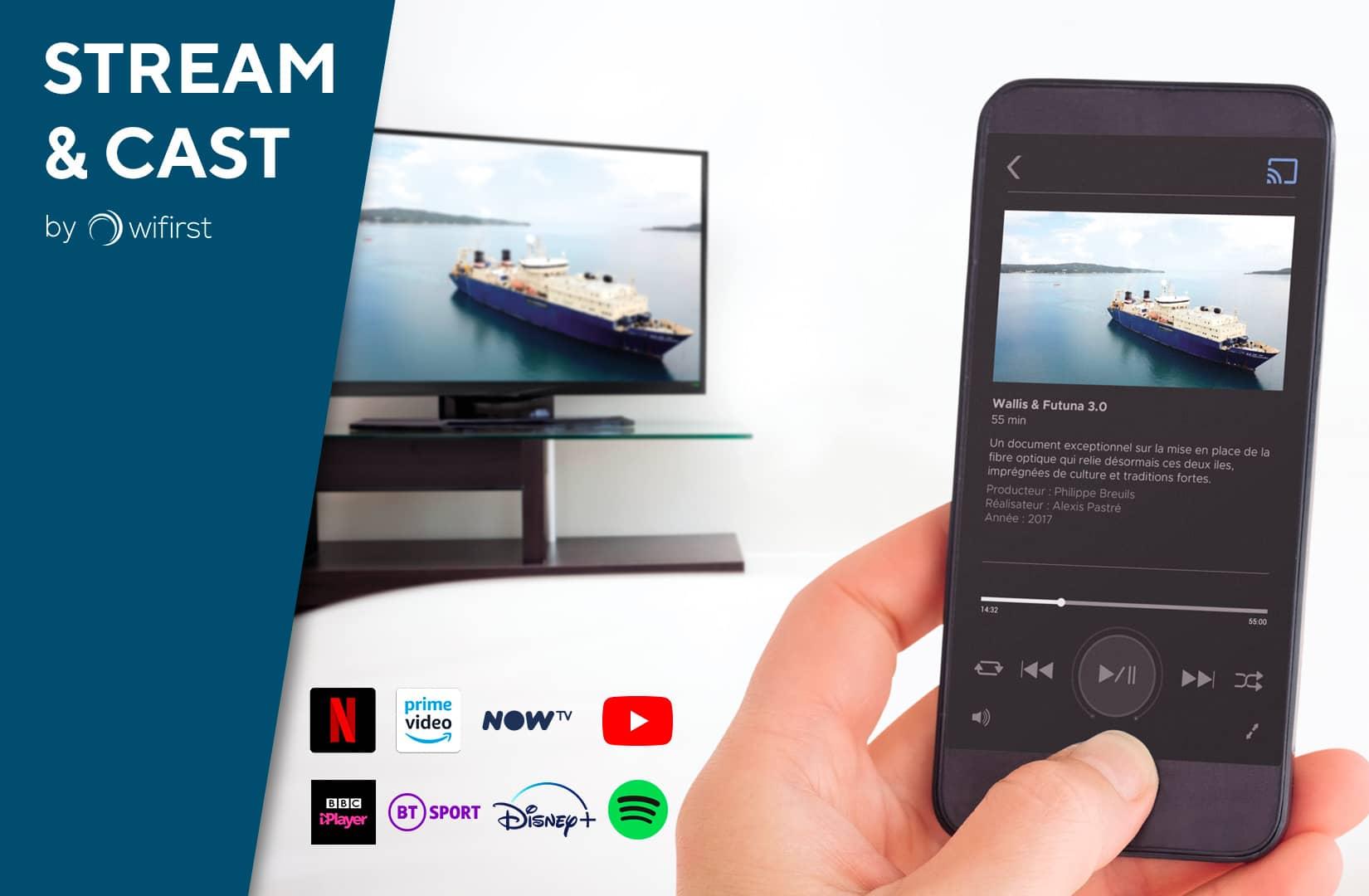 Chromecast solution for hotels