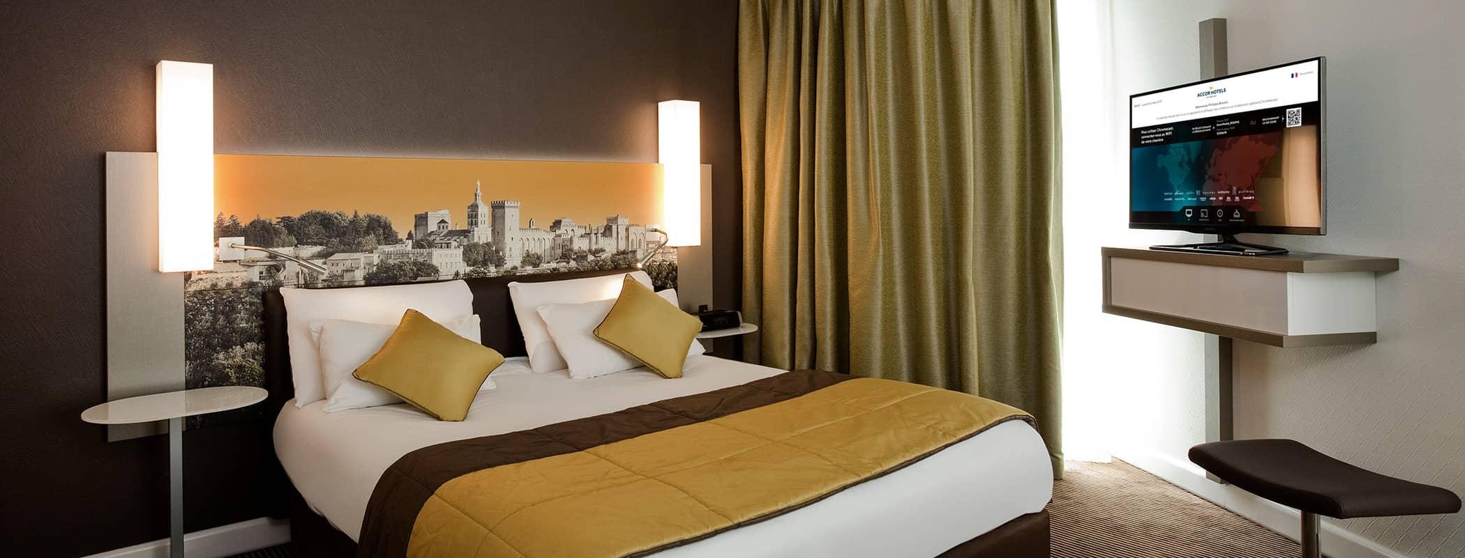 Expérience connectée avec internet très haut débit dans les hôtels