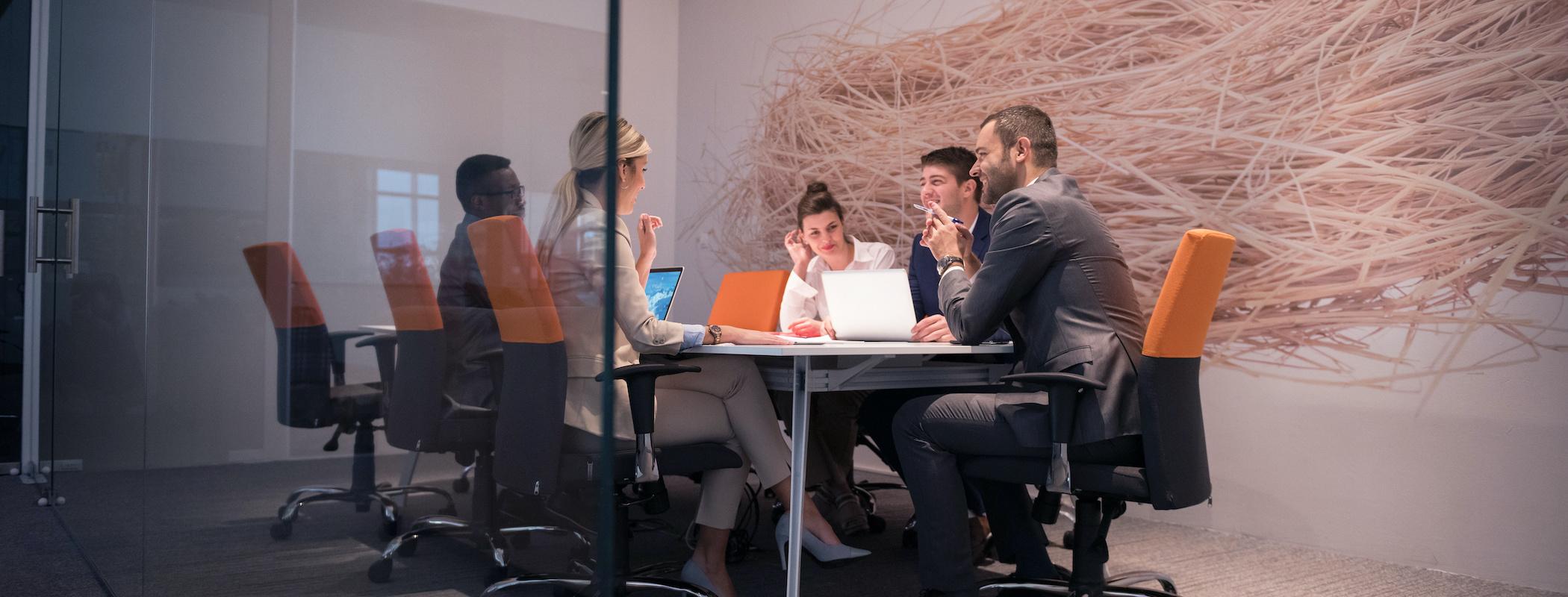 Travail en mobilité grâce au WiFi en entreprise